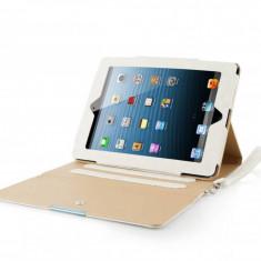 Husa tableta Modecom California Chic alba pentru Apple iPad 2 / 3