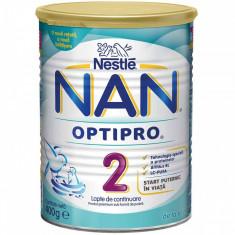 Lapte praf NESTLE Nan2 Optipro 400g de la 6 luni - Lapte praf bebelusi