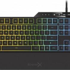 Tastatura Gaming Mecanica Creative Sound BlasterX VANGUARD K08 RGB Black - Tastatura PC, Cu fir, USB