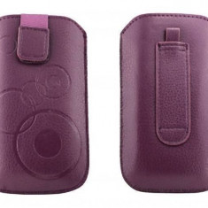 Toc OEM TSAPPIPH5VIO Slim violet pentru Apple iPhone 5 / 5S / 5C - Husa Telefon