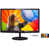 Monitor LED Philips 247E6QDAD/00 23.6 inch 5ms Black, 23 inch, 1920 x 1080