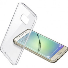 Husa Protectie Spate Cellularline CLEARDUOPHS6EPLT Bi-Component Transparent pentru Samsung Galaxy S6 Edge Plus - Husa Telefon