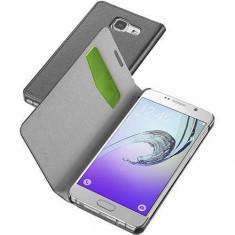 Husa Flip Cover Cellularline BOOKESSGALA316K Agenda Essential Negru pentru Samsung Galaxy A3 2016 - Husa Telefon
