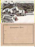 Cernauti , Bucovina - litografie -editura Knorr, Necirculata, Printata