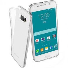 Husa Protectie Spate Cellularline FINECGALS6T Transparent pentru Samsung Galaxy S6 - Husa Telefon
