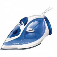 Fier de calcat Philips GC2046/20 EasySpeed 2200W alb / albastru, Ceramica, 270 ml