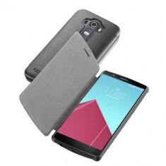 Husa Flip Cover Cellularline BOOKESSENLGG4K Agenda Negru pentru LG G4 - Husa Telefon