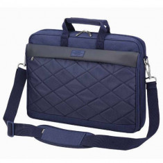 Geanta laptop Sumdex Passage 15.6 inch Navy Blue, Nailon, Albastru