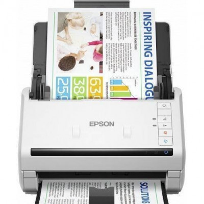 Scanner Epson DS-530N A4 Alb foto