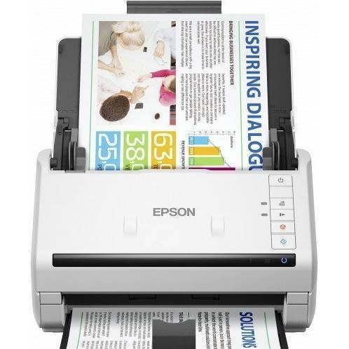 Scanner Epson DS-530N A4 Alb foto mare