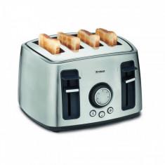 Prajitor de paine Trisa Family Toast 1600W inox, 4 felii, Peste 1000 W