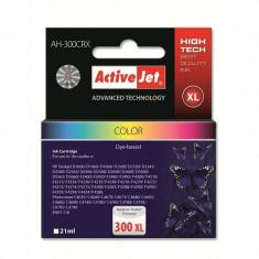 Consumabil ActiveJet Cartus HP-300XL color compatibil HP CC644EE