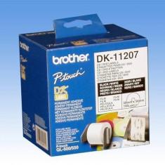 Mediu optic Brother Etichete laminate pentru CD/DVD 58 mm x 58mm - Imprimanta termice