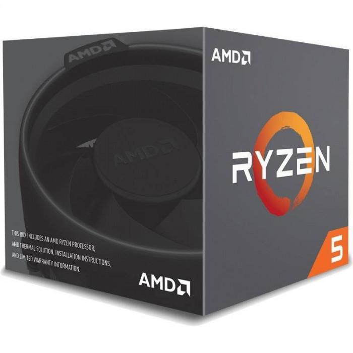 Procesor AMD Ryzen 5 1400 Quad Core 3.2 GHz Socket AM4 BOX
