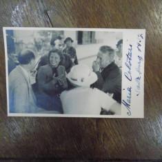 Maria Cebotari, fotografie cu semnatura olografa