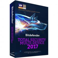 BitDefender Total Security Multi-Device 2017 1 an 5 useri box - Antivirus