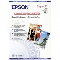 Consumabil Epson Consumabil Hartie fotografica semi-lucioasa Premium A3+