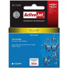 Consumabil ActiveJet Cartus T0554 yellow compatibil Epson C13T055440 - Cartus imprimanta