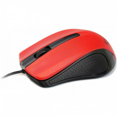 Mouse optic Gembird MUS-101-R red, USB, Optica