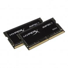 Memorie laptop HyperX Impact Black 32GB DDR4 2133 MHz CL13 Dual Channel Kit - Memorie RAM laptop Kingston