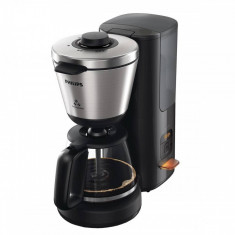 Cafetiera Philips HD7696/90 Intense 1000W 1.2l negru / inox