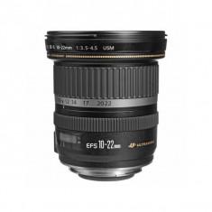 Obiectiv Canon EF-S 10-22mm f/3.5-4.5 USM - Obiectiv DSLR Canon, Wide (grandangular), Autofocus, Canon - EF/EF-S