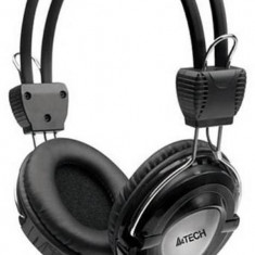 Casti gaming A4Tech Over-Head HS-19-1 Black