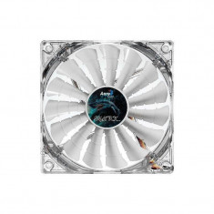 Ventilator Aerocool Shark White Edition LED 120 mm