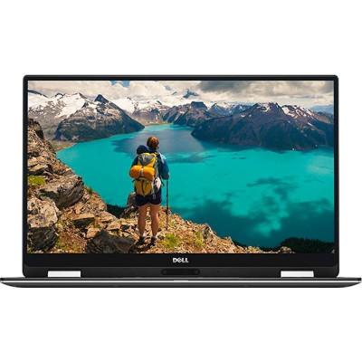 Laptop Dell XPS 13 9365 13.3 inch Quad HD+ Touch Intel Core i7-7Y75 8GB DDR3 512GB SSD Windows 10 Pro Silver foto
