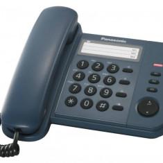 Telefon Analogic cu Fir Panasonic KX-TS520FXC cu Memorie Albastru - Telefon fix