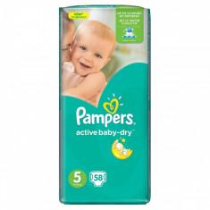 Scutece PAMPERS Active Baby 5 Jumbo Pack 58 buc