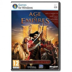 Joc PC Microsoft PC Age of Empires III: Complete Collection - Jocuri PC Microsoft Game Studios, Strategie, 12+, Multiplayer