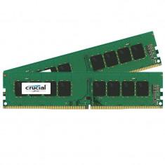 Memorie Crucial 16GB DDR4 2400 MHz CL17 Dual Channel Kit - Memorie RAM