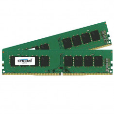 Memorie Crucial 16GB DDR4 2400 MHz CL17 Dual Channel Kit - Memorie RAM