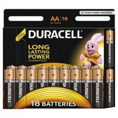 Baterie Duracell Basic AA LR06 18buc Negru - Baterie Aparat foto