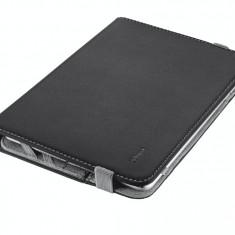 Husa tableta Trust 19703 Verso Universal Folio Stand neagra pentru 7 - 8 inch