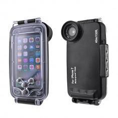 Carcasa subacvatica waterproof 40m compatibila iPhone 7 - Husa Telefon, iPhone 7/8
