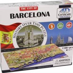 Puzzle 4D Cityscape Barcelona 1200+ piese