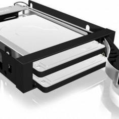 Rack HDD RaidSonic Icy Box Mobil 2x 2.5 SATA HDD/SSD Black