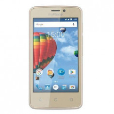 Telefon mobil myPhone Pocket Dual Sim Gold - Telefon MyPhone