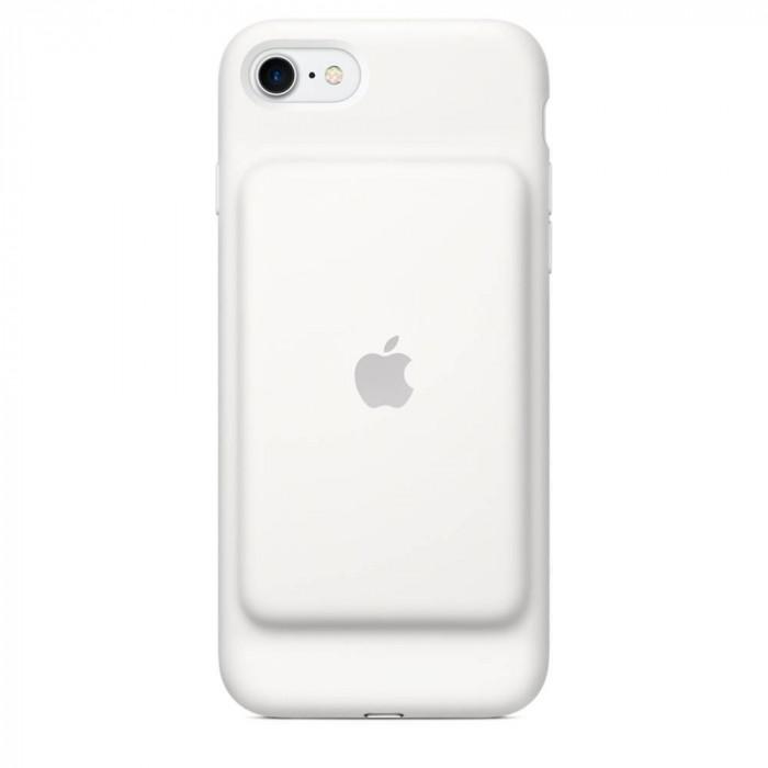 Husa Protectie Spate Apple cu acumulator extern white foto mare