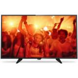 Televizor Philips LED 40 PFT4101 102 cm Full HD Black - Televizor LED Philips, Smart TV