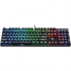 Tastatura gaming Redragon Devarajas USB Black, Cu fir
