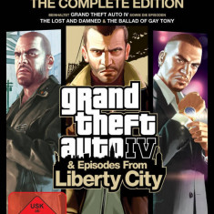 Joc PC Rockstar Grand Theft Auto IV Complete Edition - Jocuri PC Rockstar Games, Role playing, 18+, Single player