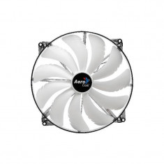 Ventilator Aerocool Silent Master White LED 200 mm - Cooler PC
