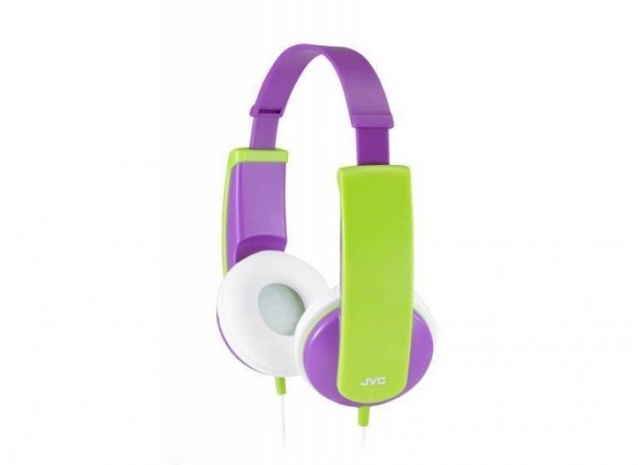 Casti JVC HA-KD5-V Purple / Green foto mare