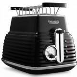 Prajitor de paine Delonghi CTZ 2103.BK Scultura 900W negru, 4 felii