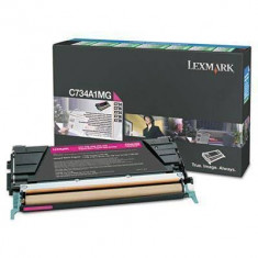 Consumabil Lexmark Consumabil toner pt C746 si C748 Magenta Return Program Toner Cartridge70000 pages