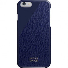 Husa Protectie Spate Native Union CLIC-MAR-LE-H-6S Clic Leather Blue pentru Apple iPhone 6 / 6S