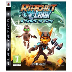 Joc consola Sony PS3 Ratchet and Clank A Crack In Time - Jocuri PS3 Sony, Actiune, 12+